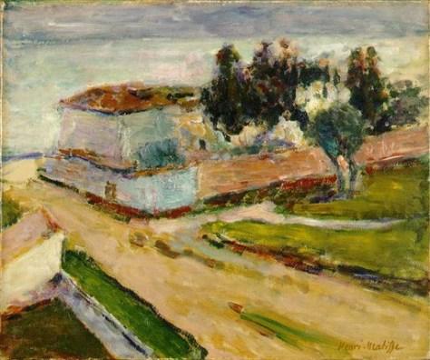 Image: Stolen Matisse oil painting