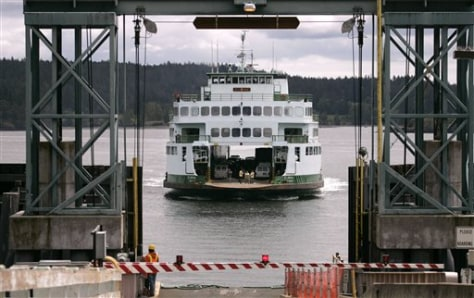 Image: Washington state ferry