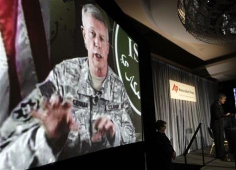 Image: U.S. Army Gen. David McKiernan