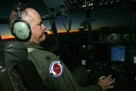 Image: Hurricane Hunter pilot