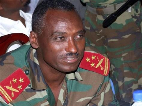 Image: Ethopian troop commanderYohannes Abate