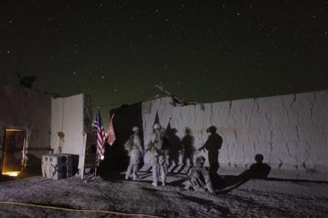 Image: Marines in Afghanistan
