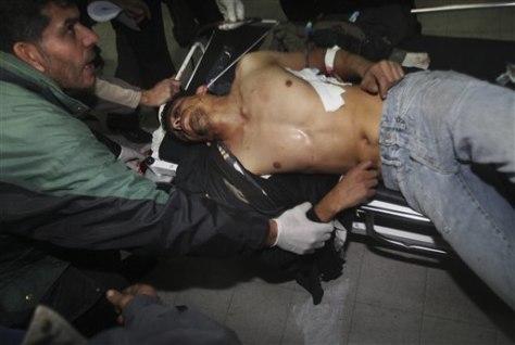 Image: Gaza airstrike