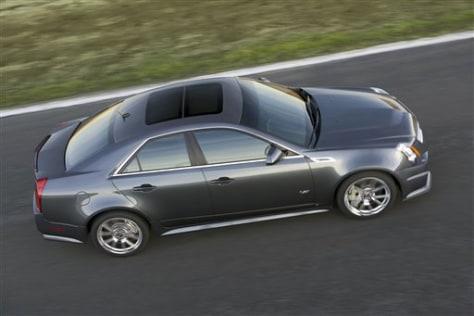Image: 2009 Cadillac CTS-V