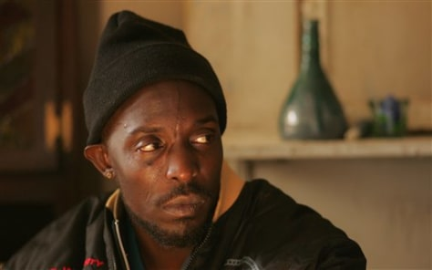 "Image: Omar on ""The Wire"""
