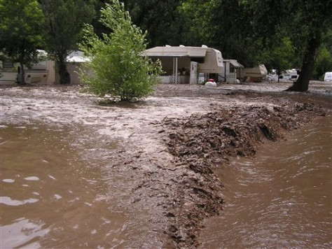 1 Dead As Dolly Remnants Flood N M Weather Nbc News