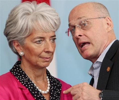 Image: Paulson, Lagarde