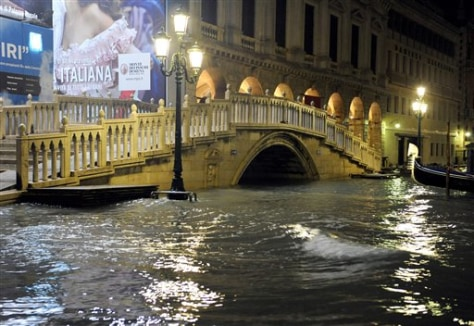 Image: Flooded part of Venice
