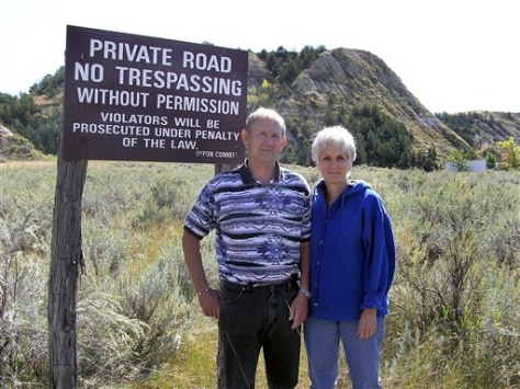 IMAGE: OWNERS OF LAND NEAR ROOSEVELT RANCH
