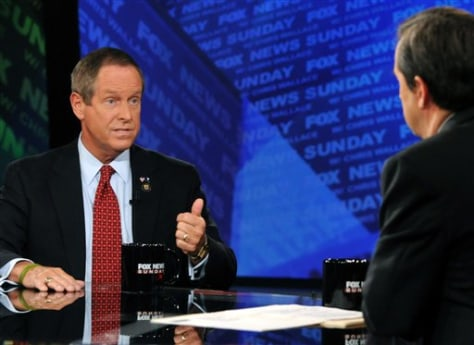 "Image; Rep. Joe Wilson, R-S.C., appears on ""Fox News Sunday"""