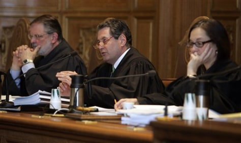 Image: State court justices