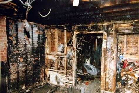 IMAGE: BURNED ROOM
