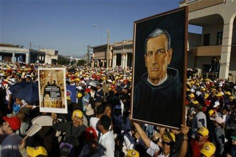 Image: Cuba beatification ceremony