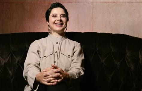 APTOPIX Film Isabella Rossellini