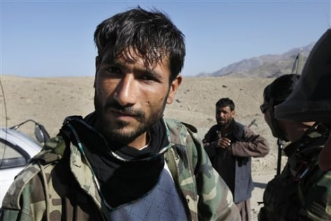 Image: Rahimullah, a former Taliban fighter