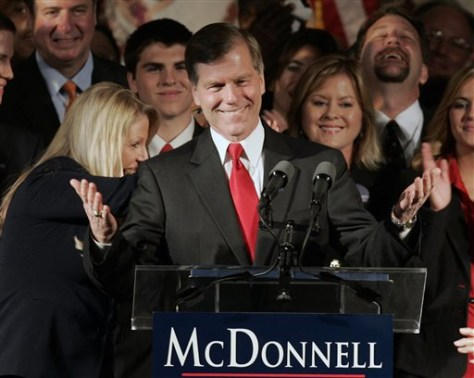 Image: Governor-elect Bob McDonnell