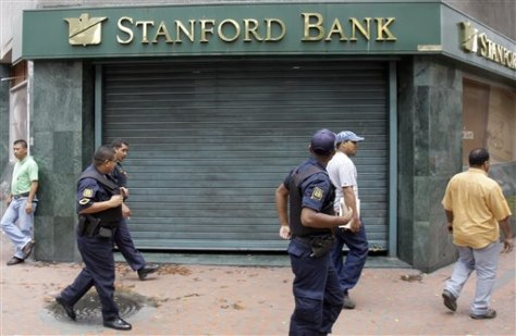 Image: Venezuela branch of Stanford Bank