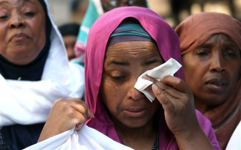 Image: Yemenia Airways crash memorial march