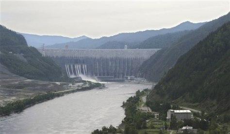 Image: Siberia's massive Sayano-Shushenskaya hydroelectric power plant
