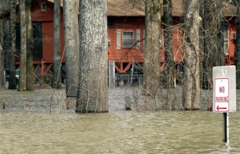 IMAGE: SWAMPED AREA IN ARKANSAS