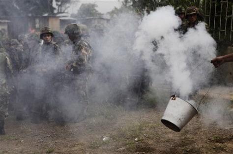 Image: Honduras protest