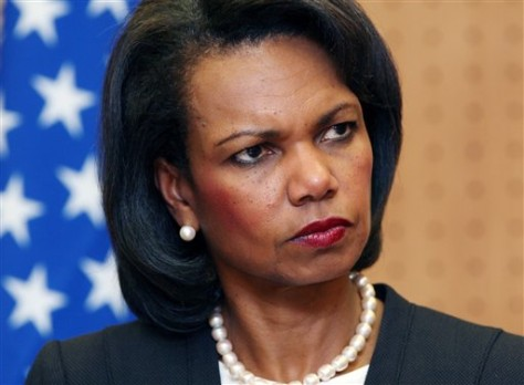 IMAGE: Secretary of State Condoleezza Rice
