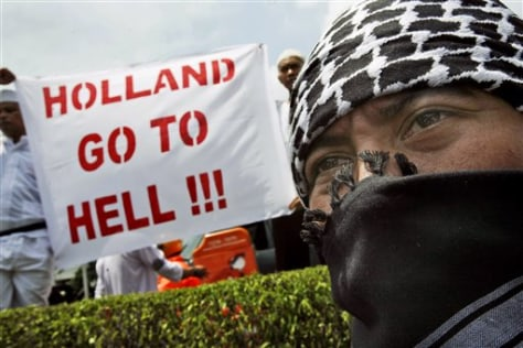 IMAGE: PROTEST IN INDONESIA