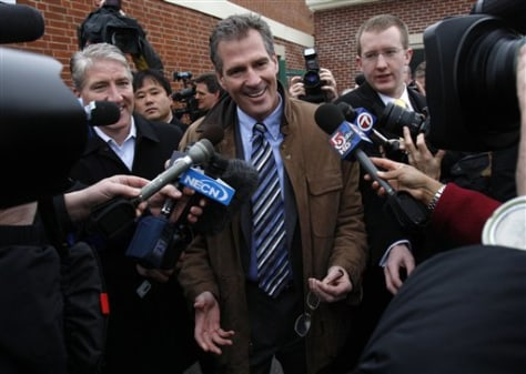 Image: Massachusetts State Sen. Scott Brown, R-Wrentham