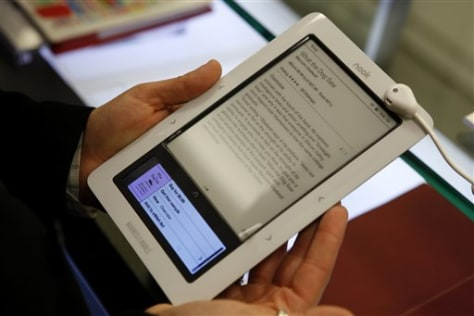 Image: Barnes & Noble Nook e-reader