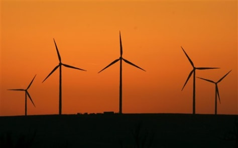 IMAGE: WIND TURBINES IN KANSAS