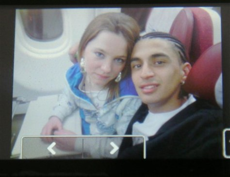 Image: Brazilian suspect with British girl