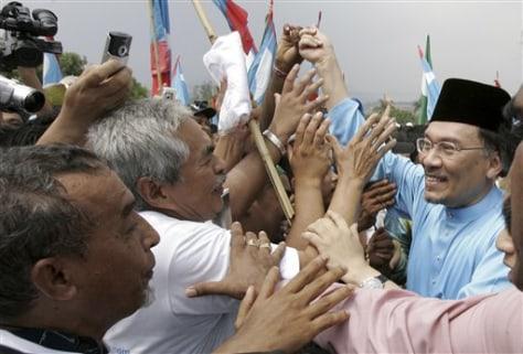 Image: Malaysia Anwar Ibrahim