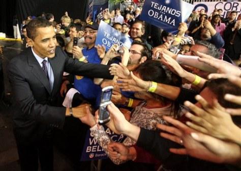 Aptopix Obama 2008