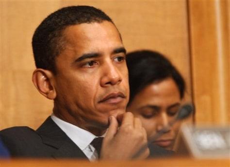 Sen. Barack Obama, D-Ill.