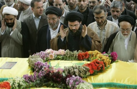 Image: Lebanon funeral