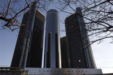 Image: GM headquarters