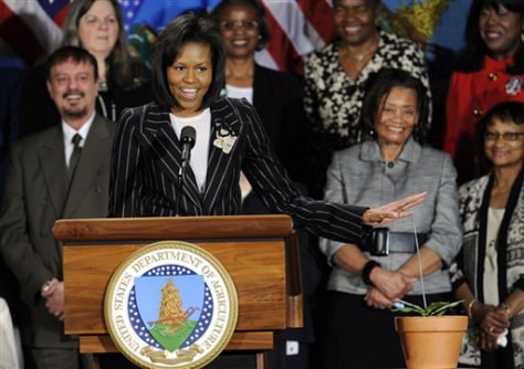 Image: First Lady Michelle Obama.