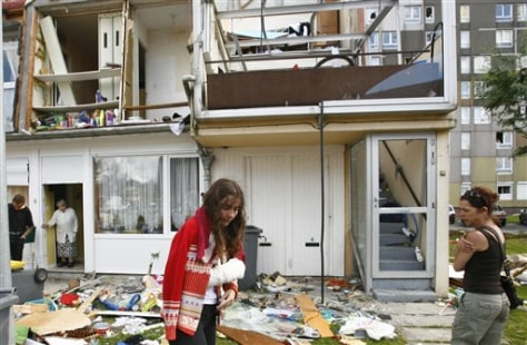 Image: Home destroyed by twister