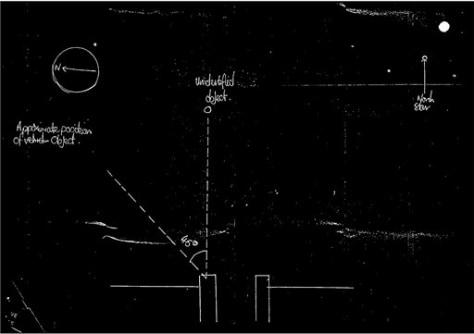 Image: UFO sketch