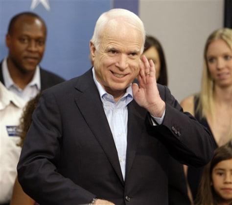 IMAGE:Sen. John McCain, R-Ariz.