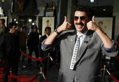 Image: Sacha Baron Cohen as Borat