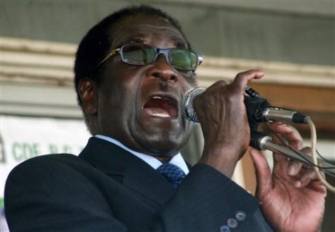 Image: President Robert Mugabe