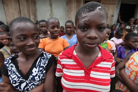 Image: Accused child witches in Nigeria