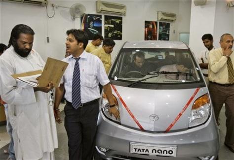 Image: Tata showroom