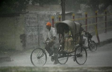 Image: Heavy rain in Amritsar