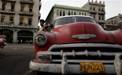 Image: Cuba taxis