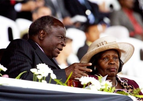 IMAGE: KENYA PRESIDENT AND FIRST LADY