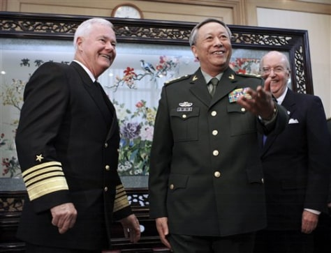 IMAGE: US, CHINESE GENERALS