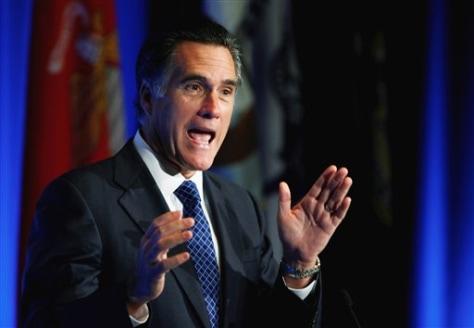 Image: Former Massachusetts Gov. Mitt Romney