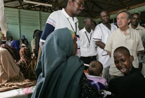 Image: Somali refugees